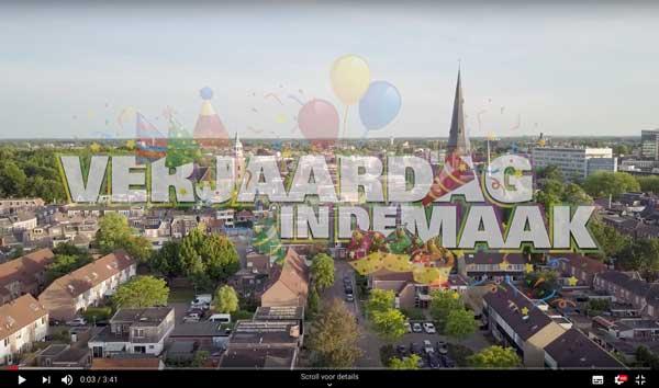 Promo video voor Verjaardag in de Maak!