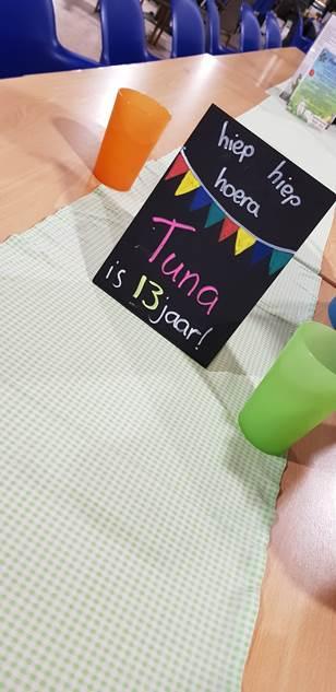 Verjaardag van Tuna